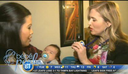 Flora Featured on TV Teething Necklace for Moms