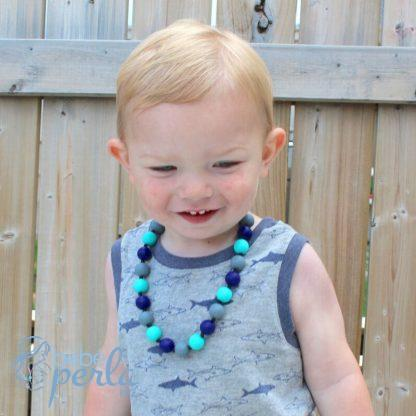 Justin - little boy's silicone Necklace