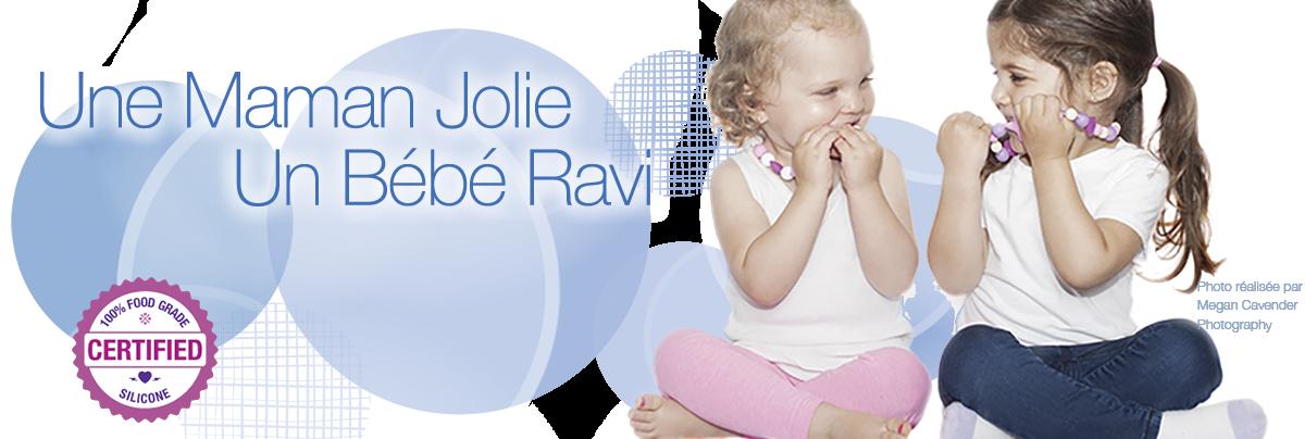 Ume Maman Jolie Un Bébé Ravi