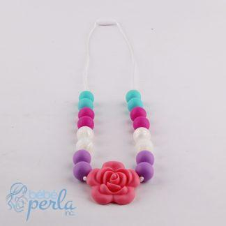 Collier à croquer en silicone - FLOWER | Silicone chewable necklace