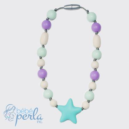 Collier à croquer en silicone - STARBRIGHT | Silicone chewable necklace