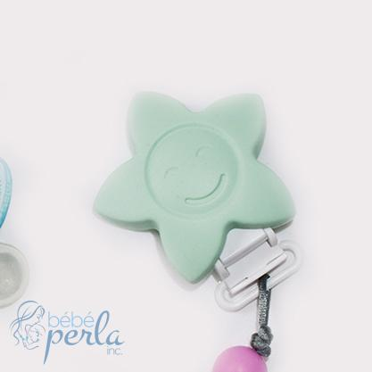 Silicone Clip Flower Mint